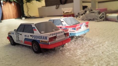 Škoda 130 LR J.Haugland a J.Sedlář