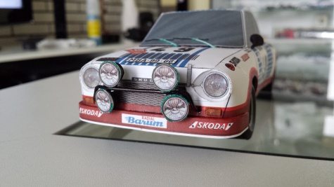Škoda 130 RS Monte Carlo a Barum Team