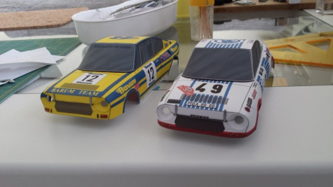 Škoda 130 RS Monte Carlo a Barum Team