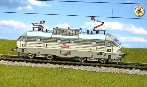 Škoda 55 E řady ES 499 001