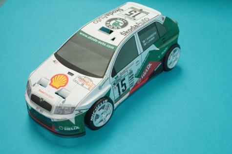 ŠKODA FABIA WRC ADAC Rally Deutschland 2003