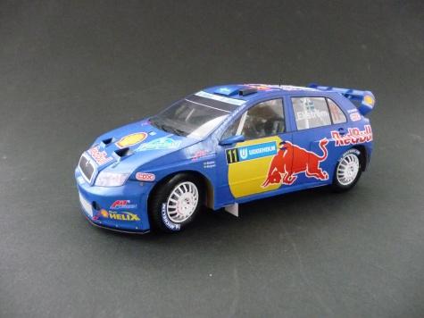 Škoda Fabia  WRC RedBull