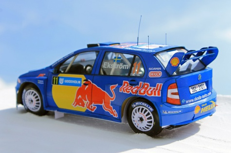 Škoda Fabia WRC - Swedish Rally 2005