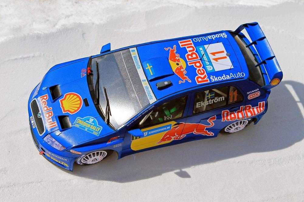 Škoda Fabia WRC - Swedish Rally 2005