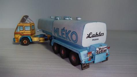 Škoda LIAZ 100.47 - mlékárenská cisterna NC 31 23 22