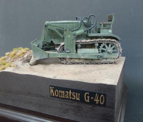 Komatsu G40