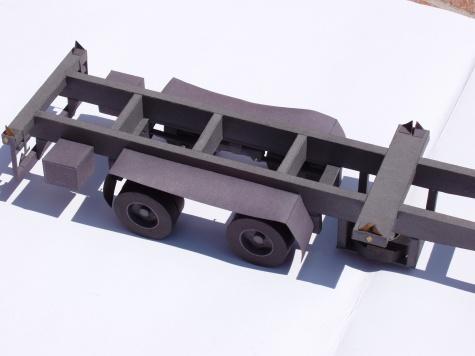 kontejnerový  návěs NK-30.25.20.