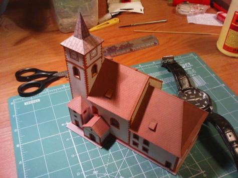 kostel sv. Jakuba,Kasejovice - 24 hodinovka