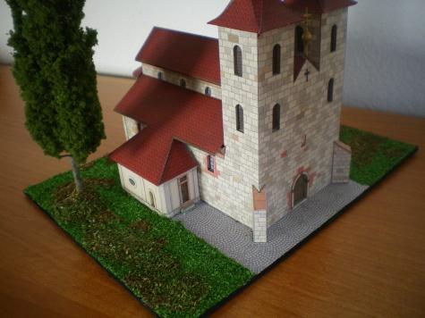 Kostel nanebovzetí p. Marie Tismice