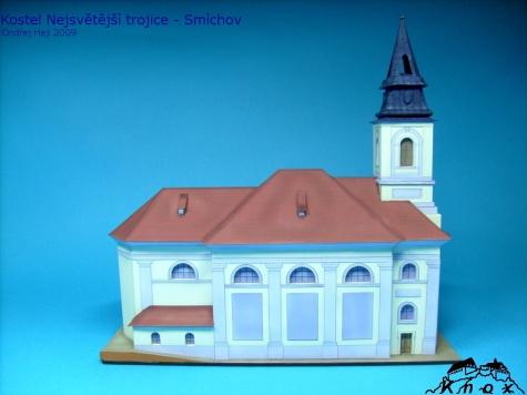 Kostel Nejsvětější trojice - Praha, Smíchov
