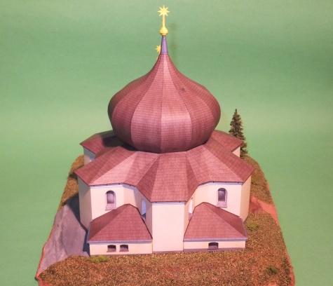 Kostel Panny Marie Pomocné - Železná Ruda