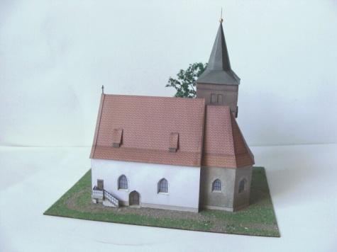 kostel stětí Sv.Jana Křtitele Skramníky