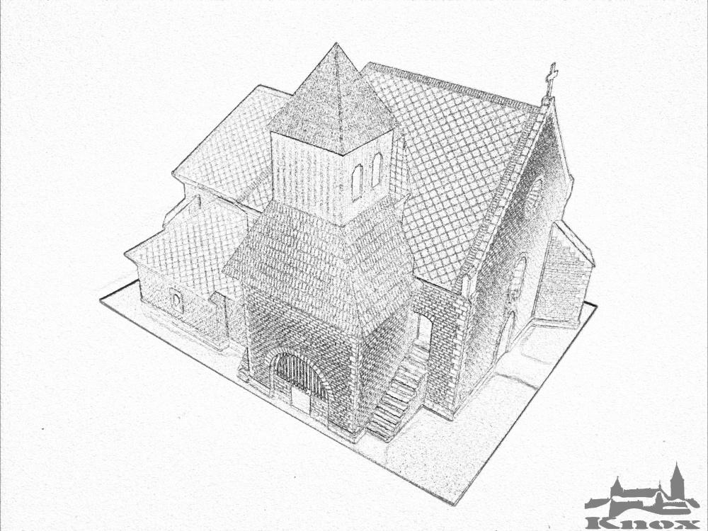 Kostel Stětí svatého Jana Křtitele v Krpech