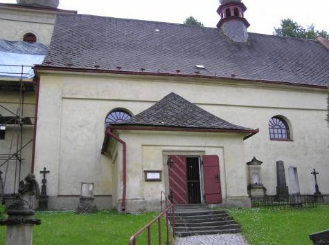 Kostel sv. Bartoloměje v Jablonném nad Orlicí - foto skutečné stavby