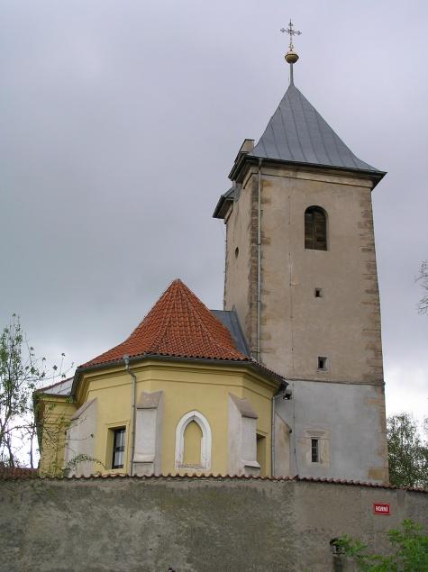 Kostel sv. Jakuba Většího - Minice