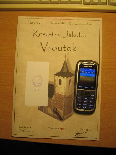 Kostel sv. Jakuba Vroutek (24-hodinovka 2013)