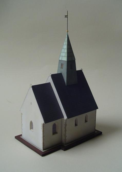 Kostel sv. Jana Křtitele v Nudvojovicích u Turnova