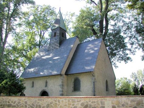 kostel Sv. Jana Křtitele v Nudvojovicích