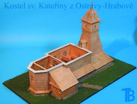 Kostel sv. Kateřiny - Ostrava-Hrabová