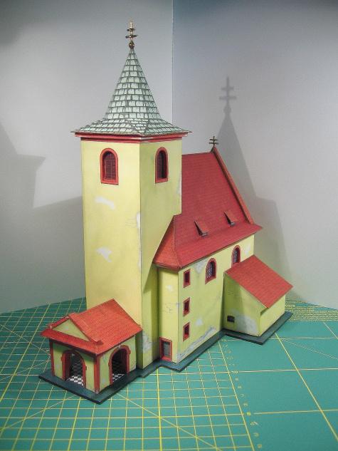 Kostel sv. Václava, Hrusice