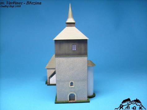Kostel sv. Vavřince v Březině