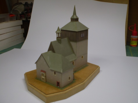 Kostel sv,Vavřince v Březině