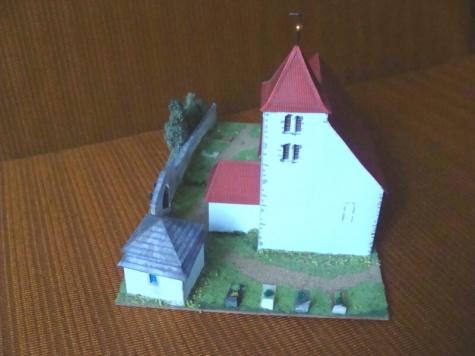 kostel Sv.Voršily - Újezdec