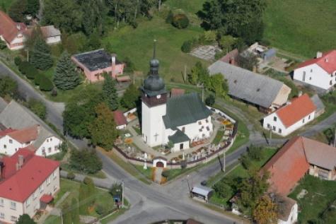 Kostel v Bobrůvce