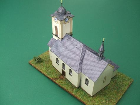 Kostel v českých Libchavách