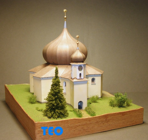 Kostel Panny Marie Pomocné Železná Ruda