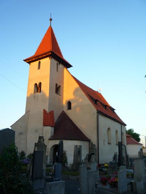 kostel sv. Štěpána,  Malín