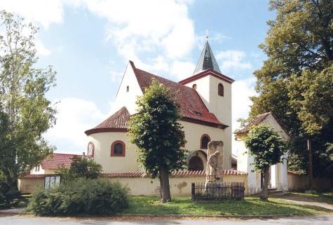 kostel Sv.Václava  Hrusice