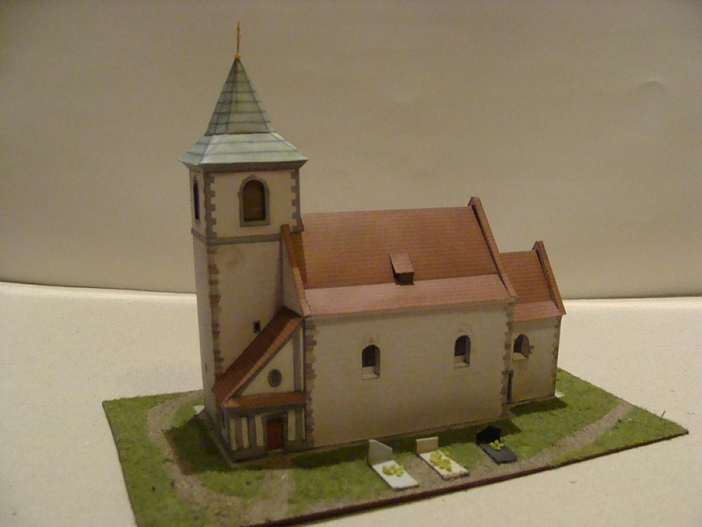 kostel Všech Svatých - Řesanice