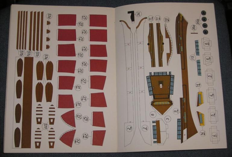 Kranich - historie - lodě