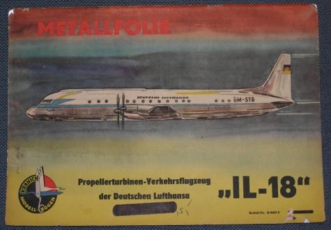 Kranich - letadla - historie