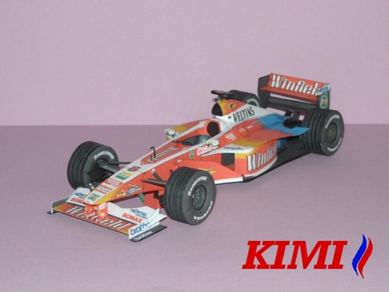 Williams FW21 , R.Schumacher