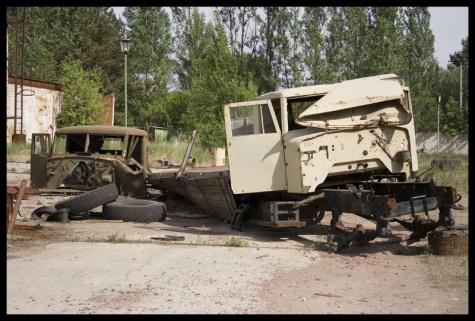 Černobylská diorámata -podklady ke stavbě