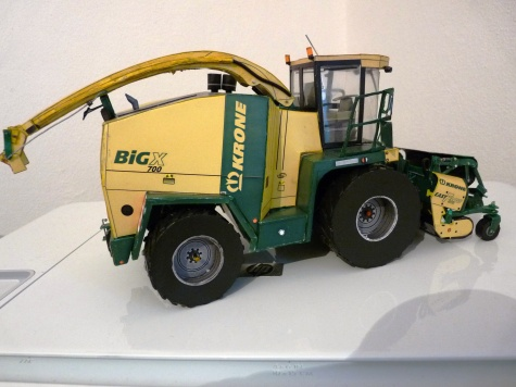 Krone Big X 700 s lištou easy flow 3001