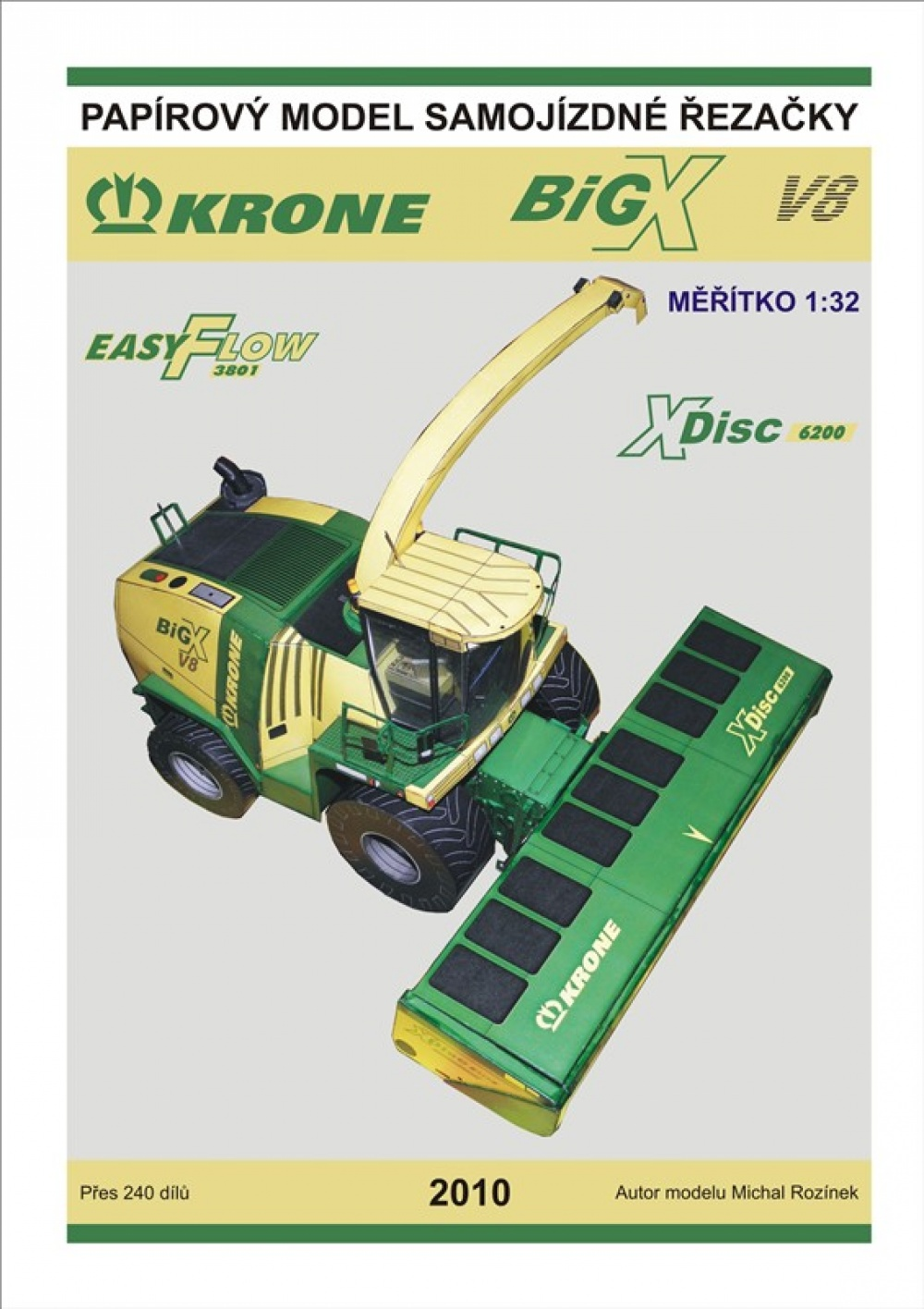 KRONE Big X V8 samojízdná řezačka