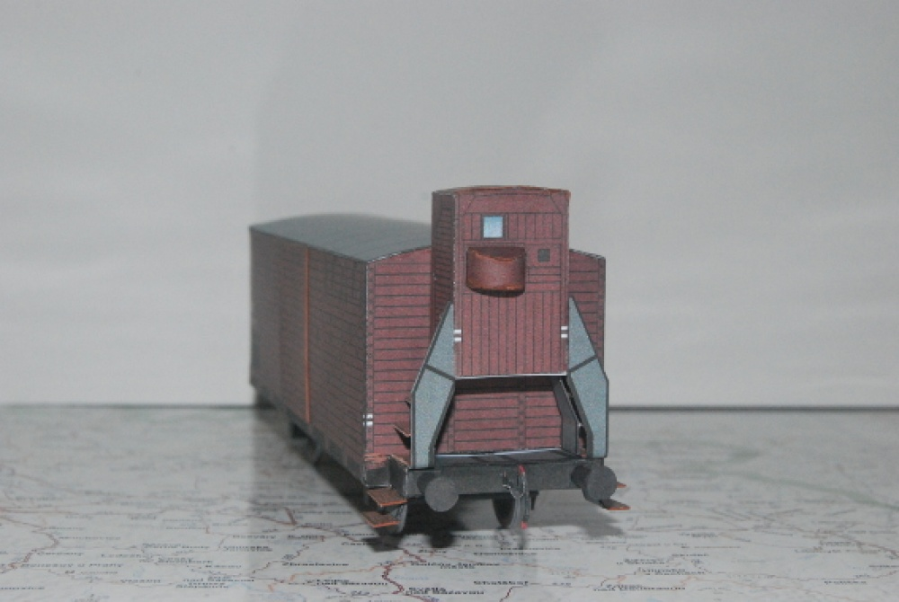 krytý vůz Gg s budkou