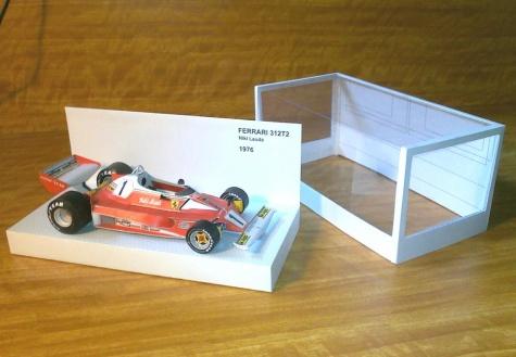 Krabička na modely F1