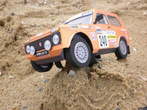 Lada Niva 4x4 Dakar 1985