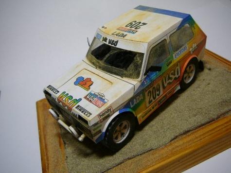 Lada Niva Dakar by Rybak