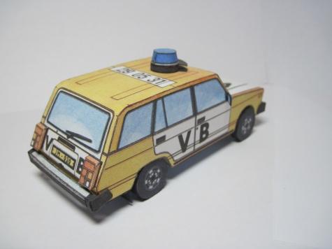 Lada VAZ 2104 Veřejná Bezpečnost