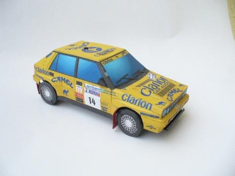 Lancia Delta Camel - Eklund RAC 1991