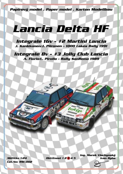 Lancia Delta HF Integrale 16v 1991