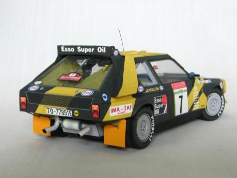 Lancia Delta S4 - Grifone Rally Team