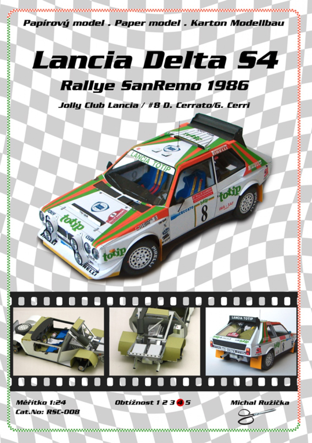 Lancia Delta S4 - Jolly Club Lancia