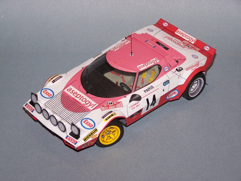 Lancia Stratos Aseptogyl Team 1977