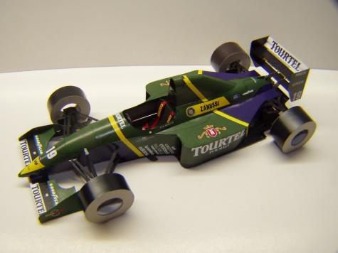 Larousse LH94, 1994, O. Beretta, GP Brazílie
